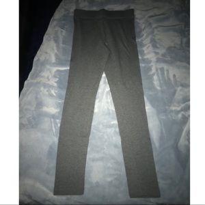 Forever 21 Light Gray leggings